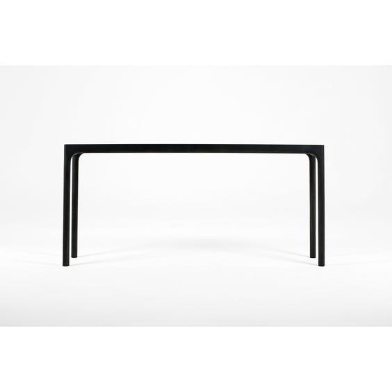 Modern ebonised console table  image
