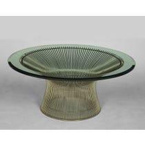 Platner circular coffee table