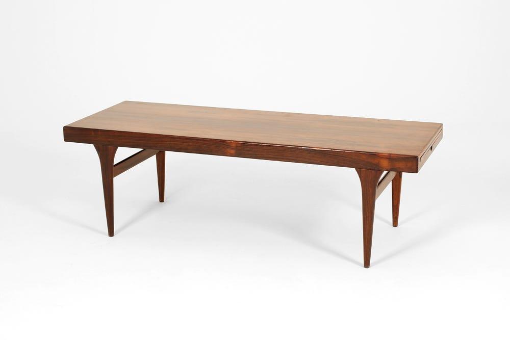 Danish Rosewood Coffee Table Hire Rental Granger Hertzog