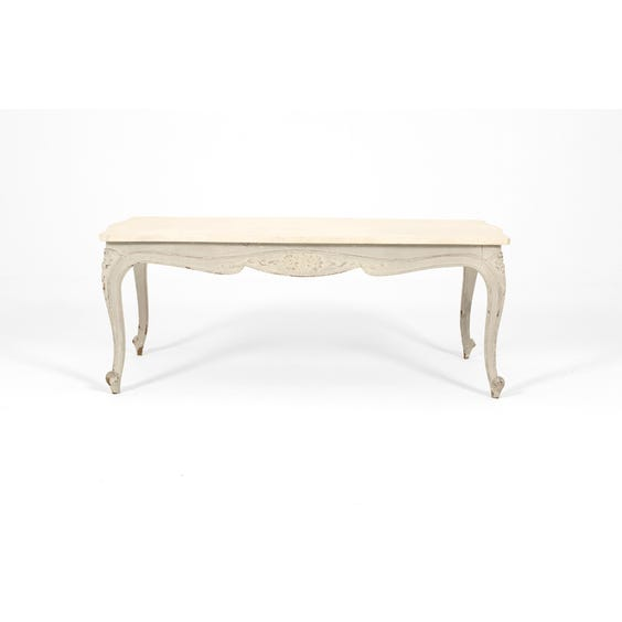 French grey coffee table image