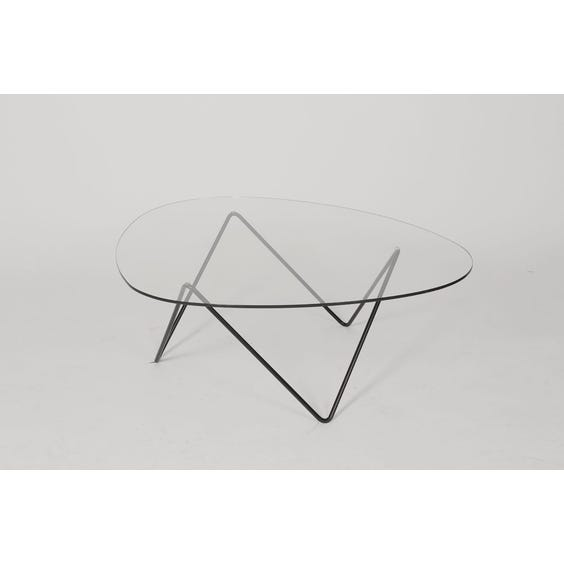 Pedrera glass zigzag coffee table image