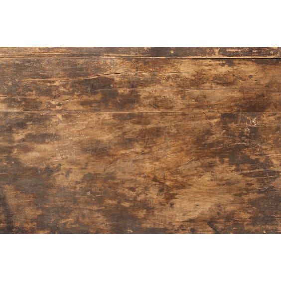 Rustic Chinese elm low coffee table image