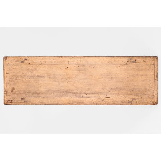 Rustic Chinese elm low table image