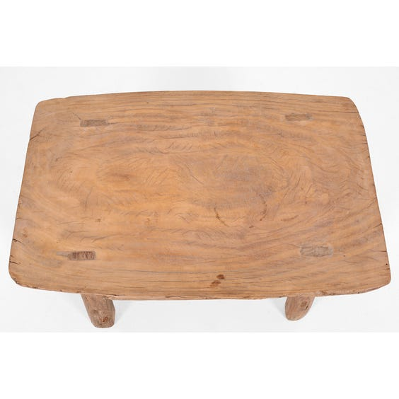 Small rustic Chinese elm table image