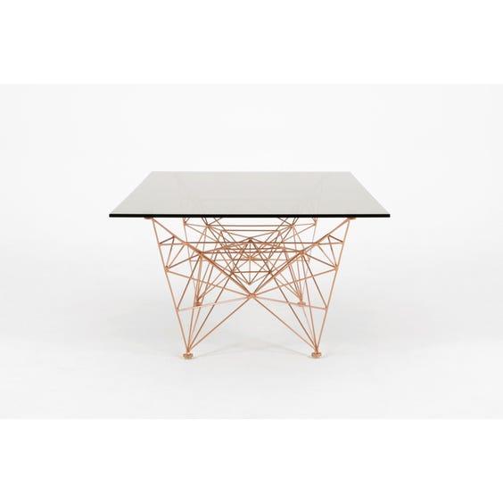 Smoked glass Pylon coffee table image