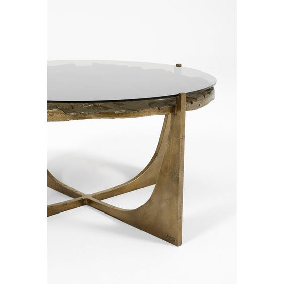 Midcentury abstract brutalist coffee table image