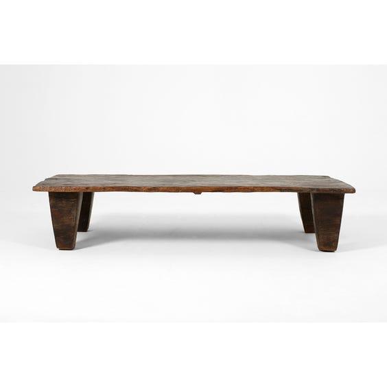 Naga wood slab coffee table image