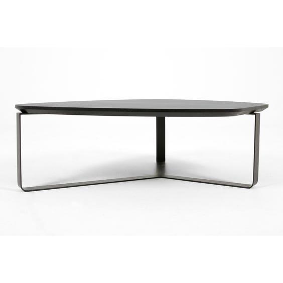 Modern oak free form coffee table image