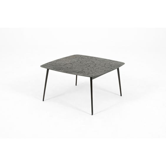 Modern steel square coffee table  image