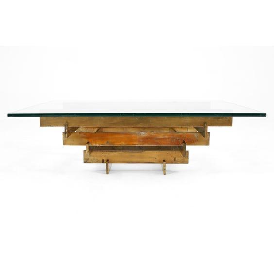 1970s David Hicks coffee table image