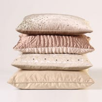 Example of light coloured cushions