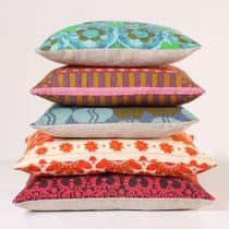 Example of retro design cushions