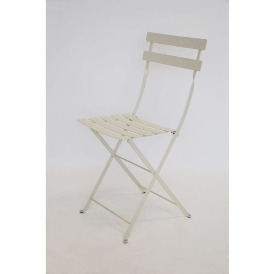 Putty bistro folding chair image