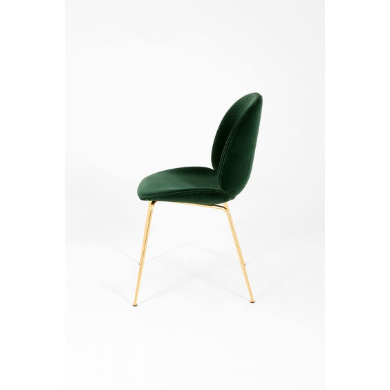 Beetle occasional emerald green chair image