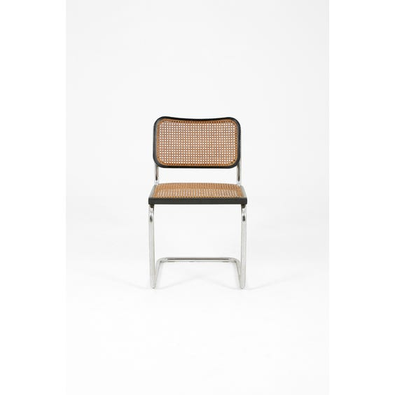 Marcel Breuer cantilever dining chair image