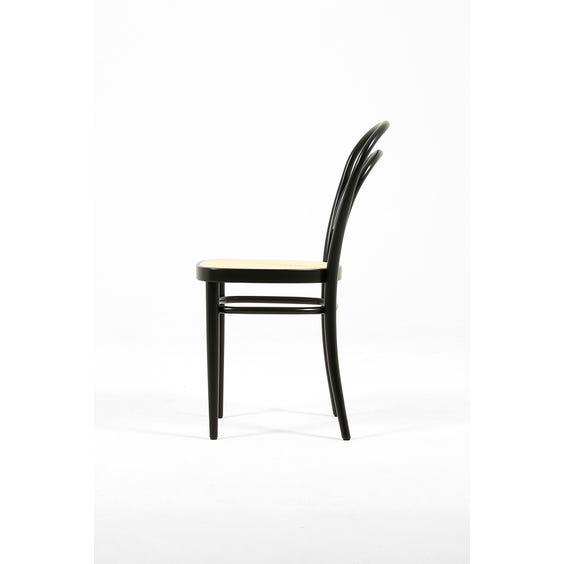 Modern black Thonet chair image
