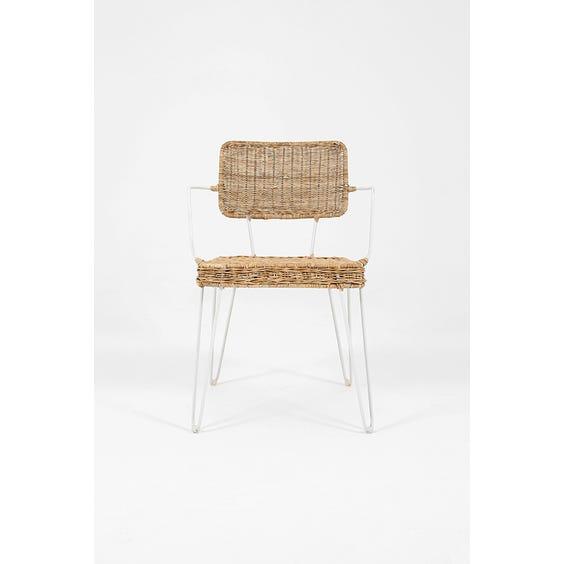 Dutch wicker carver chair image