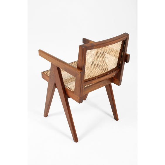 Midcentury Pierre Jeanneret chair image