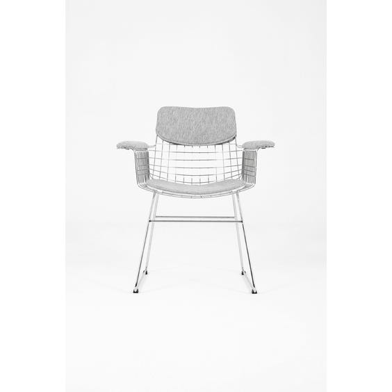 Chrome wire occasional chair image