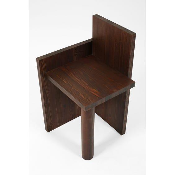 Sculptural constructivist chair image