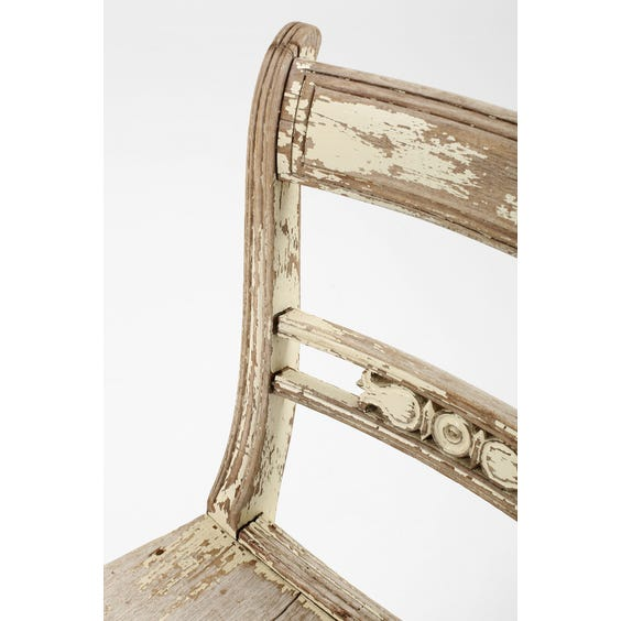 Gustavian style distressed chair  image