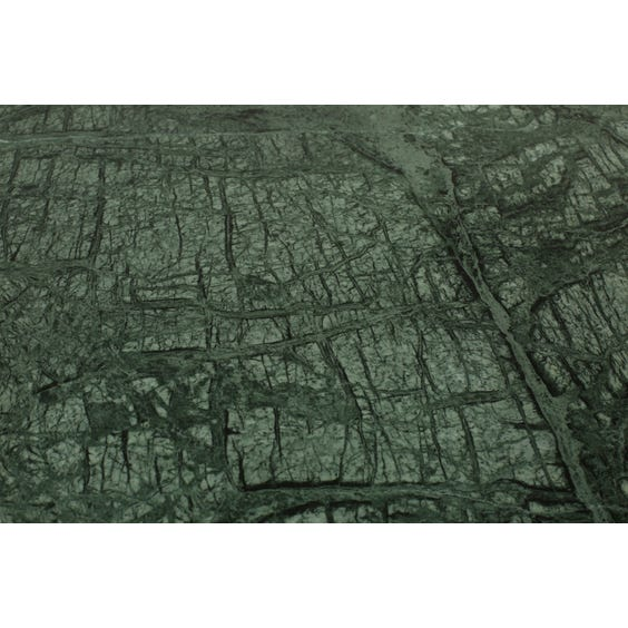 Danish green marble top desk image
