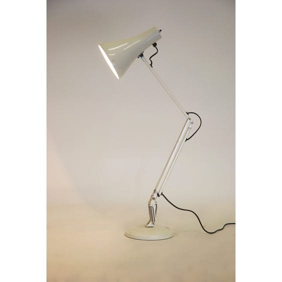 Anglepoise white metal desk lamp image