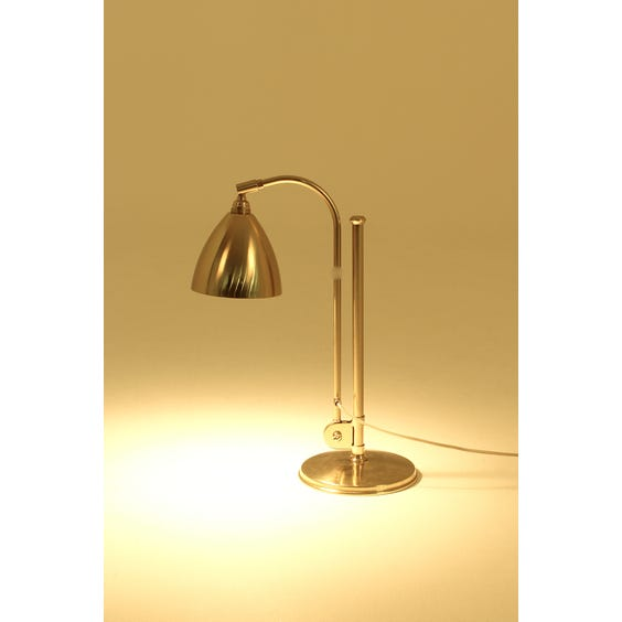 Brushed gold Bestlite table lamp image