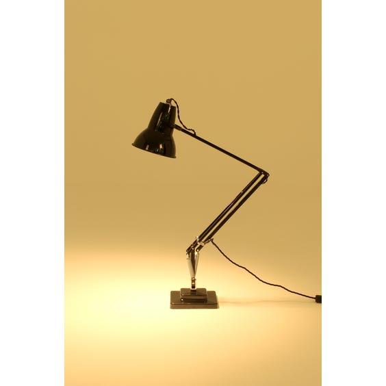 Black Anglepoise desk lamp image