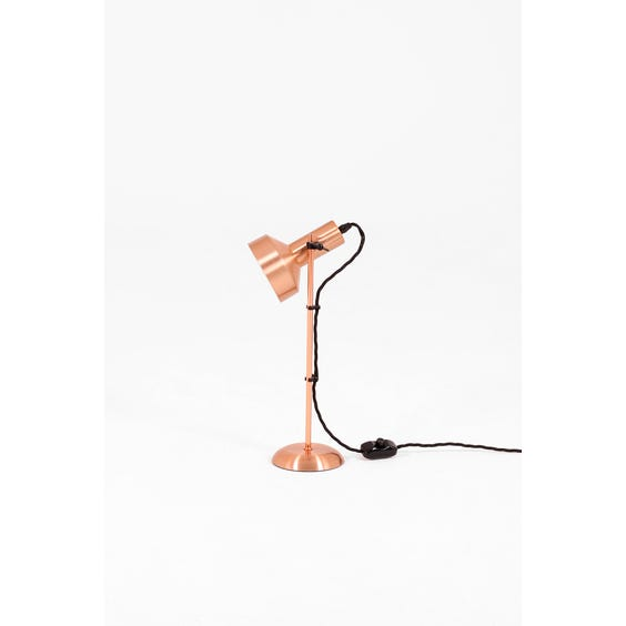 Brushed Rose Gold Table Lamp Hire, Rose Gold Table Lamp Ikea