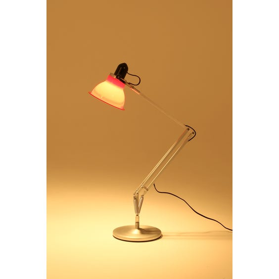 Anglepoise raspberry red desk lamp image