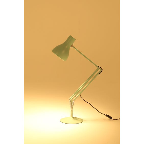 Mint green Anglepoise desk lamp image