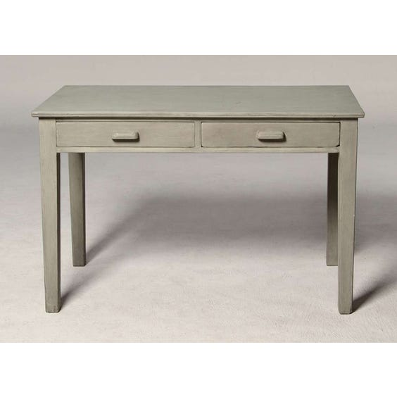 Small simple grey dressing table image