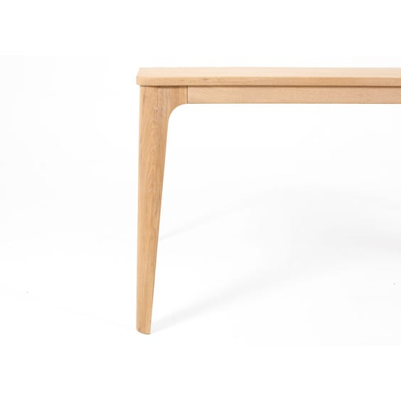 Simple Mira oak dining table image