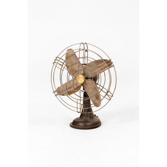 Vintage industrial 'Kassels' desk fan image