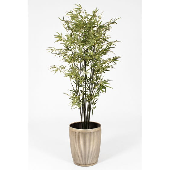 Large artificial bamboo in pot image