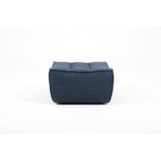 Indigo blue footstool image