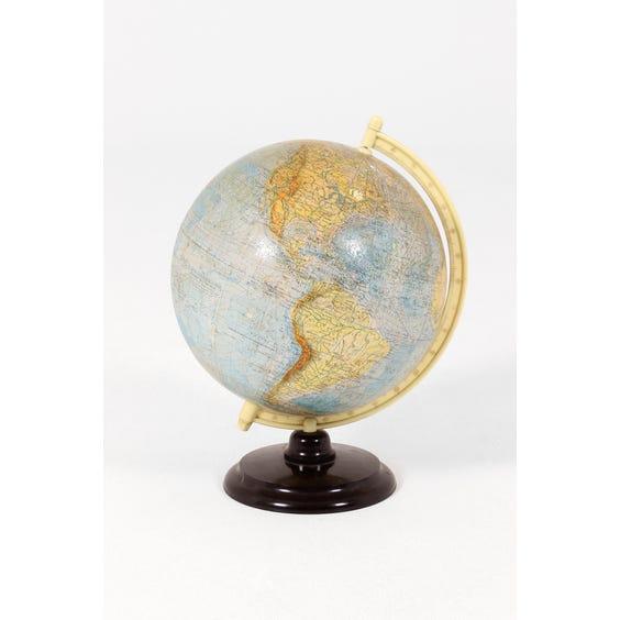Large vintage globe image