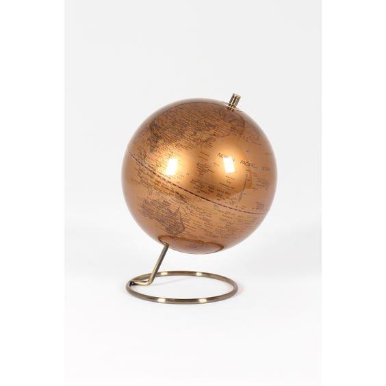 Copper globe image