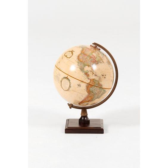 Muted pink globe image
