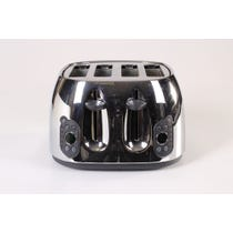Modern stainless steel toaster
