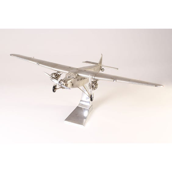 Period model aeroplane ornament image