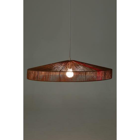 Midcentury string pendant lamp  image