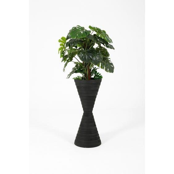 Modern stepped hourglass planter image