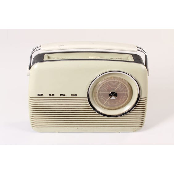 Period Bush radio image