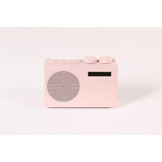 Small pink DAB radio image