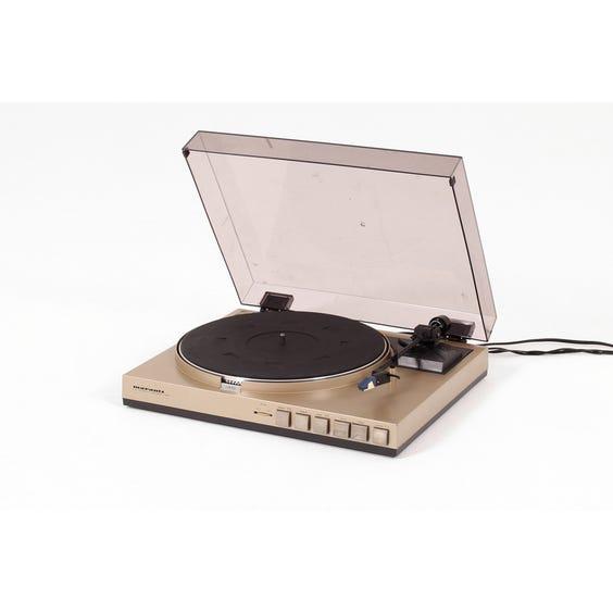 1970s Marantz gold record played image
