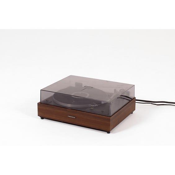 Vintage 1970s Pioneer record player image