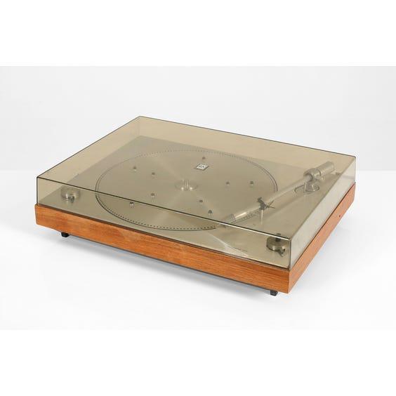 Bang & Olufsen teak record player image
