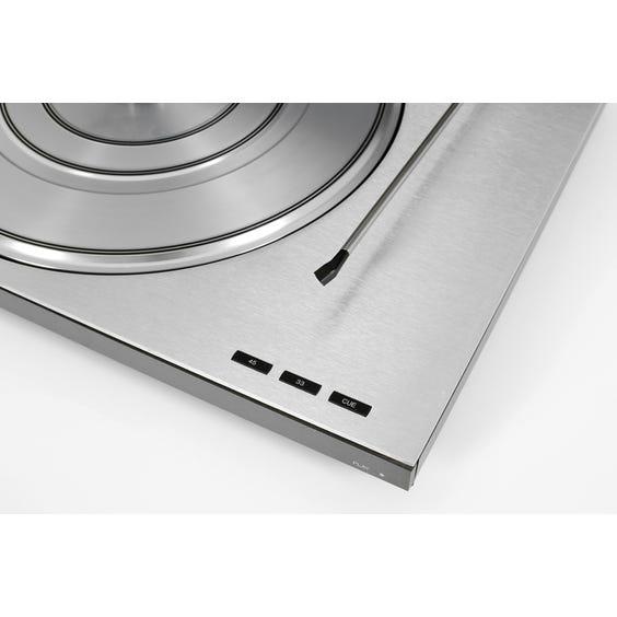 Bang & Olufsen slimline silver record player image